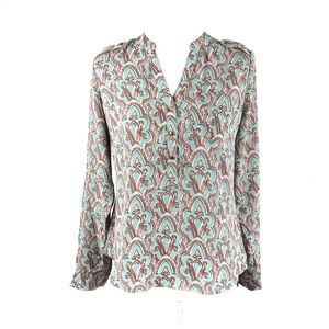 The Limited Turquoise Print Blouse, XS, XL NWT